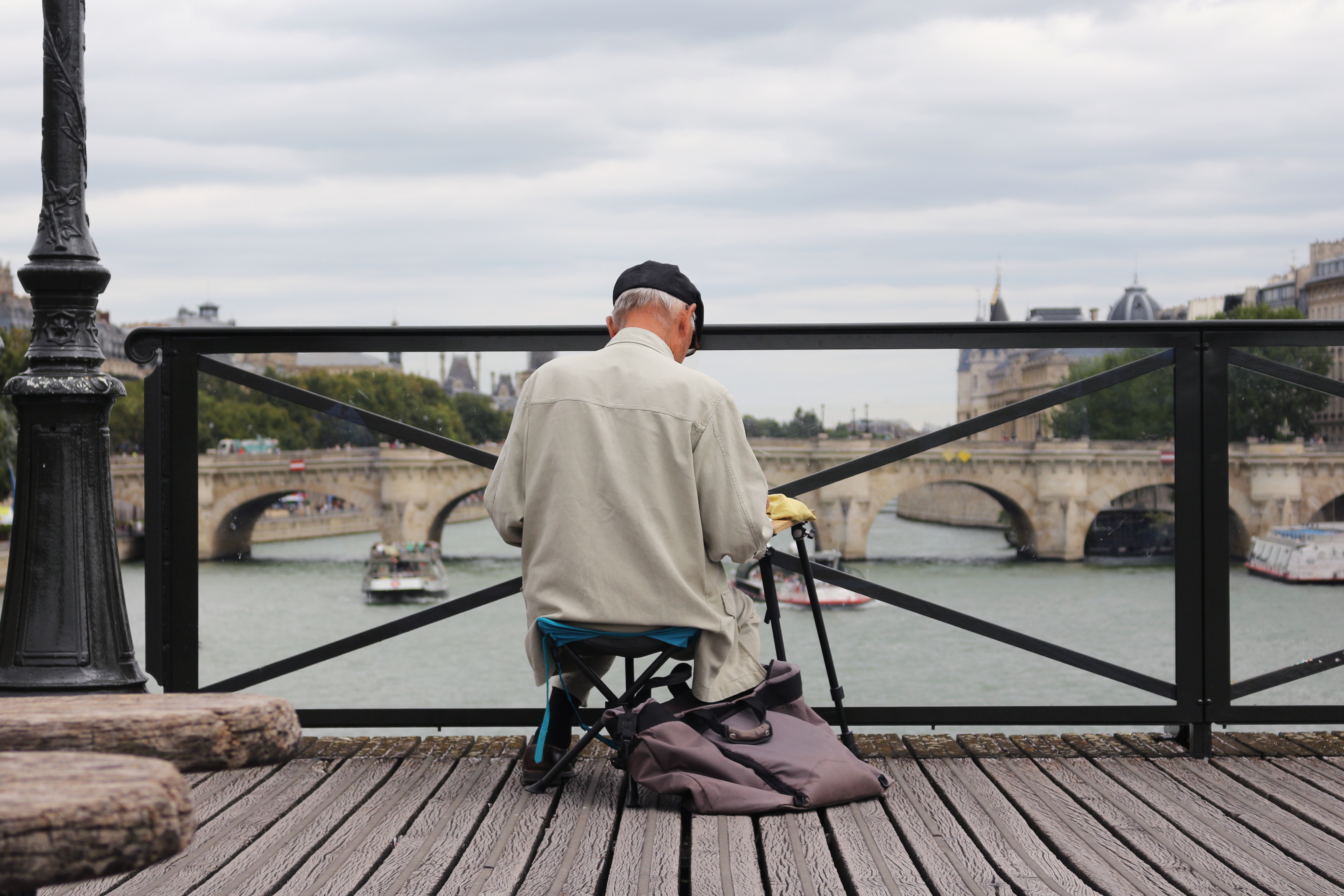 paiting the seine